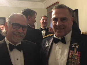 Dr Rochman and General Milley